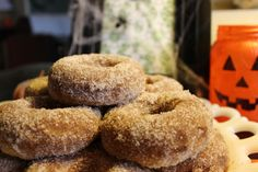 BAKED APPLE CIDER DONUTS at Everyday Made Fresh on MyRecipeMagic.com