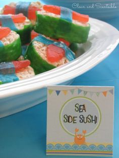 Clean & Scentsible: Under the Sea Party