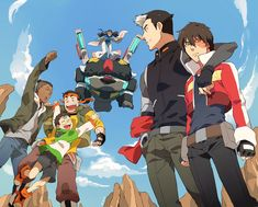 By TKG (火の国の民) - @avakoratron on Twitter - TKG's Pixiv -http://www.pixiv.net/member.php?id=1364988  AMAAAAAZING crossover between Voltron and Avatar!!!! Love love love it!!! :D