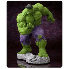 Avengers Hulk Classic Fine Art Statue - Kotobukiya - Hulk - Statues at Entertainment Earth