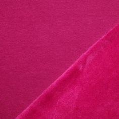 Alpenfleece Sweatshirt Stoff Fuchsia