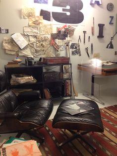 Sale! Schopenstehl 15+20, 20095 Hamburg, Lounge chair, altes nachgemachtes Büro von Charles und Ray Eames