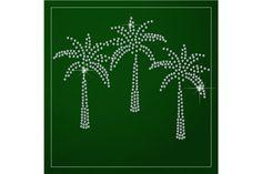 Shimmering diamond palm trees by Sunshine Art Shop on @creativemarket