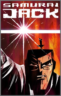 Samurai Jack Comic Book Covers by Genndy Tartakovsky & Scott Wills http://animationbgs.blogspot.com.es/ (2013) Photoshop IDW Publishing  These are variant covers for subscription customers only.