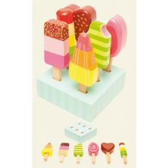 Le Toy Van Ice Lollies are one of the most popular toys of the season!