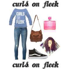 Curls on fleek girl