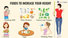 I think No one wants to look #shorter compared to others so to avoid those things Try some #foods and #exercises helps in growing #taller