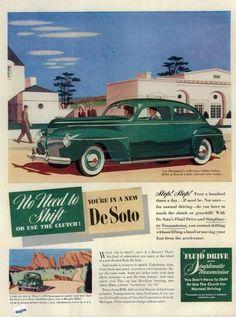 1941 DeSoto Deluxe 2-Door Sedan