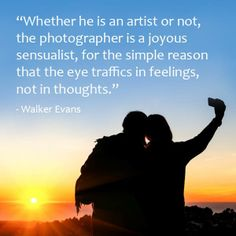 The true essence of photography is capturing #feelings. Tell us your thoughts on the #quote below.