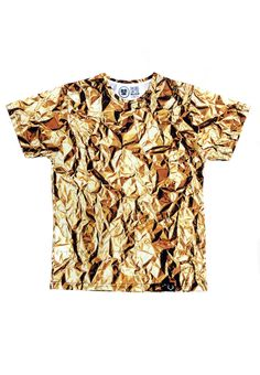 Trendy, marki i niezależni projektanci w SHOWROOM! Beige T Shirts, Gold T Shirts, Vaporwave Clothing, T Shirty, Urban Fashion, Mens Fashion, Gold Tees, Menswear, Gold Rush