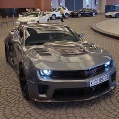 nice Custom Machine gray Camaro ZL1...  Cars Check more at http://autoboard.pro/2017/2016/12/11/custom-machine-gray-camaro-zl1-cars/