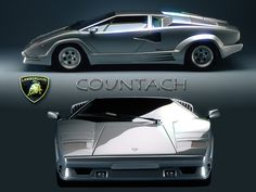 Lamborghini Countach | Protect and seal your automobile exterior and interior with nano technology. ceracoatus.com/freedom