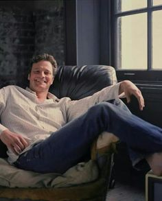 Colin Firth - smiling!!!!!