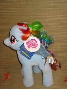New Build A Bear My Little Pony Rainbow Dash Stuffed Plush Gala Dress Bows MLP   eBay