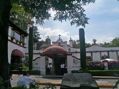 """Restaurant """"San Ángel Inn"""" (ex Hacienda Goicoechea). Built in the XVIIth century. Ciudad de México."""