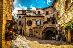 Discover the good life in Italy's Perugia known for its wines, medieval hill towns and magnificent food including the region's speciality, truffles.