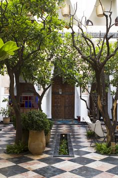 A small charming courtyard