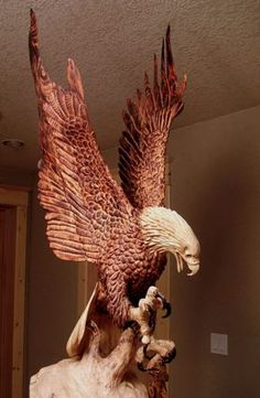 RK:eagle wood carvings - group picture, image by tag - keywordpictures ...