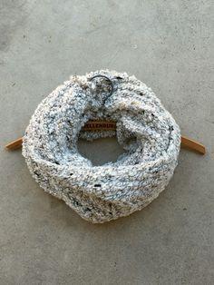 Cozy Lodge Knit Infinity Scarf