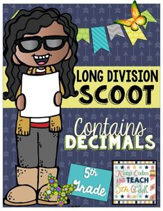Long Division with Decimals SCOOT - 5th Grade Division Game Long-Division-SCOOT.pdf<br>
