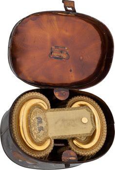 Set of Civil War Medical Staff Officer's Epaulettes