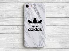 White Grey Adidas iPhone 7 Case Adidas iPhone 6 Case by PandaCases Cute Iphone 7 Cases, Nike Phone Cases, Case Iphone 6s, Cute Cases, Funda Iphone 6s, Capas Iphone 6, Coque Iphone 6, Telephone Iphone 7, Portable Iphone