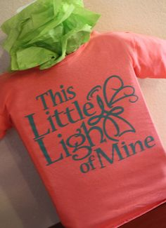 This Little Light of Mine Childrens Tee