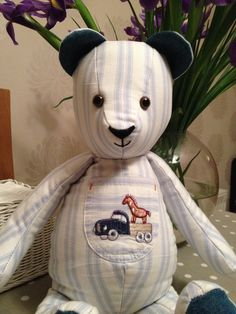 Grobag Memory Bear Cool Baby Stuff, Teddy Bear, Memories, Toys, Fun, Crafts, Animals, Products, Memoirs