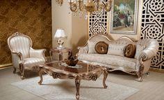 Nazende Classic Sofa Set