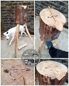 Woodworking At Home, Green Woodworking, Woodworking Hand Tools, Woodworking Projects, Wooden Spoon Carving, Wood Carving Tools, Wood Spoon, Diy Wooden Projects, Wooden Diy