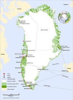 Greenlandic Geography, Greenland Geography