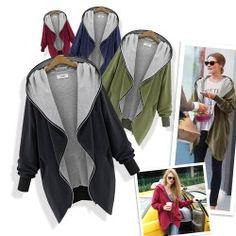Hooded Jersey Jacket
