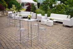 Escape to one of Toronto's greenest space. Double Glass Doors, Glass Pavilion, Toronto Wedding Photographer, Outdoor Furniture Sets, Outdoor Decor, Private Garden, Garden Spaces, Outdoor Photography, Corporate Events