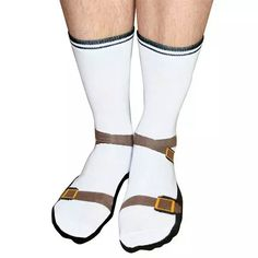 Socks that are sandals...