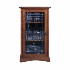 Mission Style Cabinet Audio Cabinet Forest Designs Audio Rack