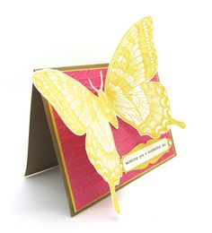 Wishing you a Wonderful Day with a Swallowtail Card
