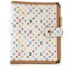 Louis Vuitton GM multicolor agenda