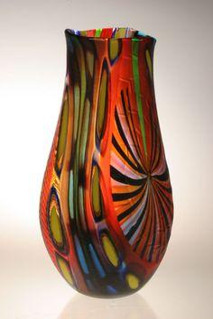 Murano Glass Vases by Maestro Ginaluca Vidal on the Behance Network