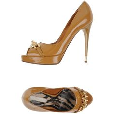 Dibrera By Paolo Zanoli Pump ($331) ❤ liked on Polyvore featuring shoes, pumps, camel, stiletto high heel shoes, heels stilettos, stilettos shoes, leather sole shoes and camel pumps