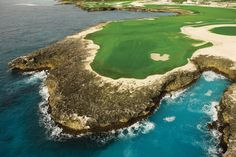 Corales Golf Club -Dominican Republic-  Situated among rocky cliffs, coral reefs and the Caribbean Sea, it's a place like no other with two world-class golf courses.