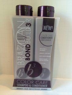 Brazilian Blowout B3 Color Care Shampoo and Conditioner 12oz Set