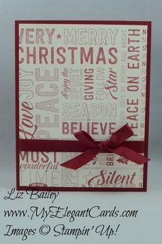 Merry Medley for a sneak peek (My Elegant Cards)                                                                                                                                                                                 More