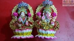 Enchanting the mantras with it praying to deites for healthy and prosperity. Made up of clay and decorated with colors