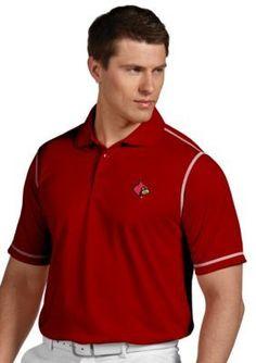Antigua Red Louisville Cardinals Icon Polo