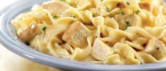 Quick Creamy Chicken & Noodles  Quick Creamy Chicken & Noodles -   This was SOOO good and so easy to make. I used Cream of Chicken though.