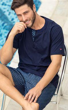 Dia dos pais - Spring-Summer 2016 - Mixte Pijamas Coast Outfit, Night Suit, Sleep Dress, Boys Underwear, Tee Shirt Designs, Casual Street Style, Gentleman Style, Spring Summer 2016, Plus Size Men