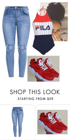 """""""Untitled #199"""" by bigdaddycam43 ❤ liked on Polyvore featuring Fila"""