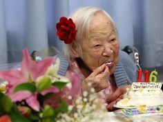 Misao Okawa 116 years old! Happy Birthday!