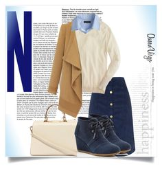"""""""Corduroy"""" by queenvirgo ❤ liked on Polyvore featuring Motel, J.Crew, Nila Anthony and TOMS"""