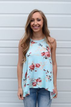 Just Like This Top- Mint